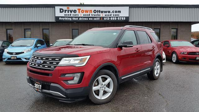 2017 Ford Explorer XLT 7 PASSNAGER POWER ROOF LEATHER INTERIOR