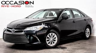 Used 2017 Toyota Camry LE BLUETOOTH+CAM.RECUL for sale in Boisbriand, QC