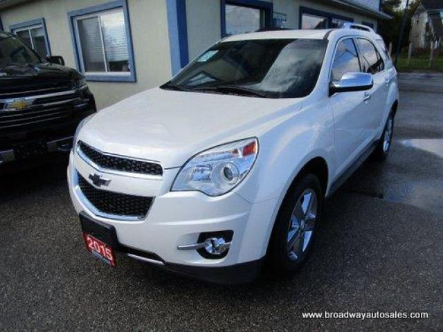 2015 Chevrolet Equinox ALL-WHEEL DRIVE LTZ EDITION 5 PASSENGER 2.4L - ECO-TEC.. LEATHER.. HEATED SEATS.. POWER SUNROOF.. BACK-UP CAMERA.. ECO-BOOST-PACKAGE..