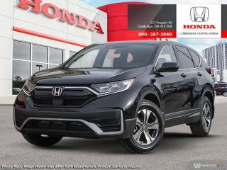 New 2020 Honda CR-V LX APPLE CARPLAY™ & ANDROID AUTO™ | PUSH BUTTON START | REMOTE ENGINE STARTER for sale in Cambridge, ON