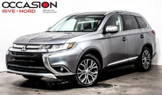 Used 2016 Mitsubishi Outlander GT AWC CUIR+TOIT.OUVRANT+CAM.RECUL for sale in Boisbriand, QC