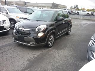 Used 2015 Fiat 500 L Trekking Automatic Pano Roof for sale in Ottawa, ON