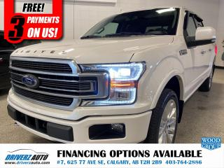 Used 2019 Ford F-150 Limited **TOP OF THE LINE** for sale in Calgary, AB