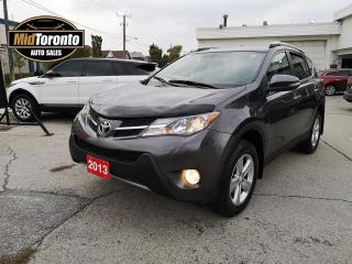 Used 2013 Toyota RAV4 XLE - AWD - NAVI - POWER ROOF - NO ACCIDENTS - REMOTE STARTER for sale in North York, ON