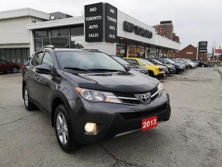 Used 2013 Toyota RAV4 XLE - AWD - Remote Starter - Navigation - Power Roof - No Accidents for sale in North York, ON