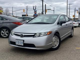 Used 2008 Honda Civic LX for sale in Toronto, ON