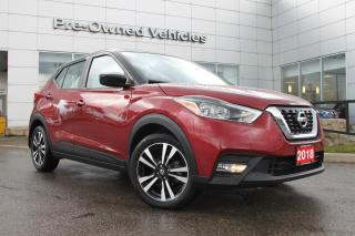 Used 2018 Nissan Kicks SV One owner accident free trade.Nissan certified preowned! for sale in Toronto, ON