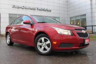 Used 2011 Chevrolet Cruze LT Turbo AFFORDABLE EXTREMELY LOW KM CRUZE LT TURBO. ONLY 80010 KMS! for sale in Toronto, ON