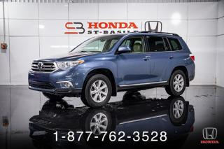 Used 2013 Toyota Highlander AWD + V6 + 7 PASSAGERS + A/C + WOW! for sale in St-Basile-le-Grand, QC