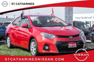 Used 2016 Toyota Corolla S Trim | Auto | Air | for sale in St. Catharines, ON