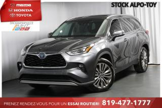 Used 2020 Toyota Highlander HYBRID| PLATINUM| RARE for sale in Drummondville, QC