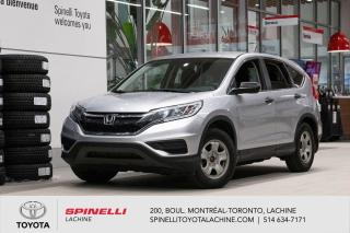 Used 2016 Honda CR-V LX FWD! AUCUN DOMMAGES! for sale in Lachine, QC