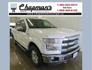 Used 2017 Ford F-150 Lariat Remote Start, Rear Vision Camera, Satellite Radio for sale in Killarney, MB