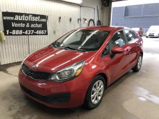 Used 2015 Kia Rio 4dr Sdn Auto LX+ $43.23 par semaine +tx for sale in St-Raymond, QC