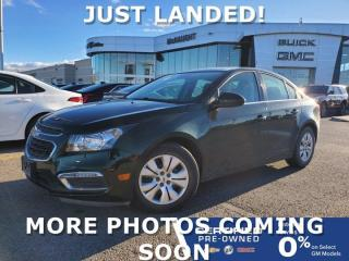 Used 2015 Chevrolet Cruze 1LT FWD | Remote Start | Touchscreen Radio for sale in Winnipeg, MB