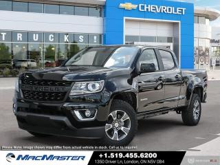 New 2021 Chevrolet Colorado Z71 for sale in London, ON