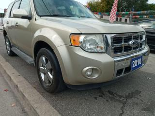 Used 2010 Ford Escape Limited-EXTRA CLEAN-LEATHER-BLUETOOTH-AUX-ALLOYS for sale in Scarborough, ON