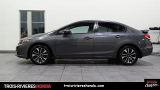Used 2015 Honda Civic EX + BAS KILO + BLUETOOTH + CAMERA RECUL for sale in Trois-Rivières, QC