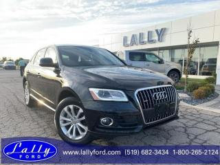 Used 2016 Audi Q5 2.0T ProgressivAWD, Leather, Only 61288 kms!! for sale in Tilbury, ON