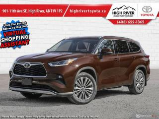 New 2020 Toyota Highlander Platinum  - Head-Up Display for sale in High River, AB