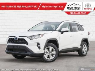 New 2021 Toyota RAV4 Hybrid XLE for sale in High River, AB
