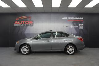 Used 2016 Nissan Sentra SV AUTO MAGS TOIT OUVRANT GPS NAV CAMERA 61 652 KM for sale in Lévis, QC