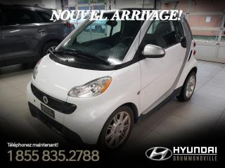 Used 2013 Smart fortwo PASSION + GARANTIE + NAVI + CUIR + WOW for sale in Drummondville, QC