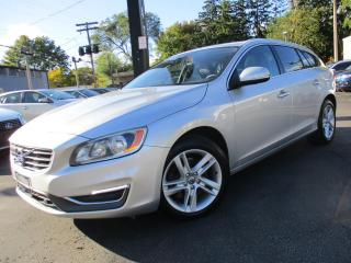 Used 2015 Volvo V60 T5 PREMIER+AWD|LEATHER|MOON ROOF|112,000KMS for sale in Burlington, ON