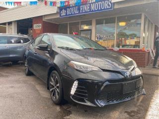 Used 2017 Toyota Corolla XSE,TopOfTheLineCorolla,PushStart,Leather,Navi,BlindSpot,Camera,HeatedSeats,Only35KKms,LikeNew,ToyotaWarranty for sale in Toronto, ON