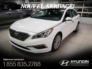 Used 2015 Hyundai Sonata LIMITED + GARANTIE + NAVI + TOIT PANO+ W for sale in Drummondville, QC