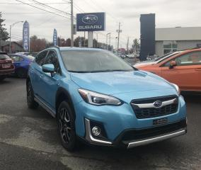 Used 2020 Subaru XV Crosstrek Plug-in Hybrid Subaru Crosstrek Limited CVT for sale in Victoriaville, QC