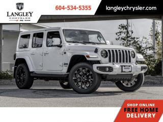 New 2021 Jeep Wrangler High Altitude Unlimited  - Leather Seats for sale in Surrey, BC