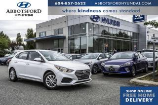 Used 2019 Hyundai Accent Hatchback Preferred  -  Power Windows - $115 B/W for sale in Abbotsford, BC
