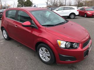 Used 2012 Chevrolet Sonic LT ** AUTOSTART, CRUISE, BLUETOOTH * for sale in St Catharines, ON