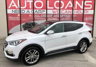 Used 2017 Hyundai Santa Fe Sport Limited-ALL CREDIT ACCEPTED for sale in Toronto, ON