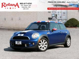 Used 2012 MINI Cooper S w/Navigation_Sunroof_Bluetooth for sale in Oakville, ON