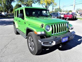 Used 2019 Jeep Wrangler JK UNL Sahara for sale in Windsor, ON