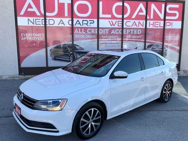 2016 Volkswagen Jetta COMFORTLINE-ALL CREDIT ACCEPTED