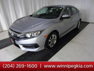 Used 2017 Honda Civic Sedan LX *Always Owned In MB!* for sale in Winnipeg, MB
