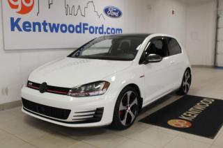 Used 2015 Volkswagen Golf GTI Autobahn 2dr FWD Hatchback | 6 Speed | Sunroof | Low KMs for sale in Edmonton, AB