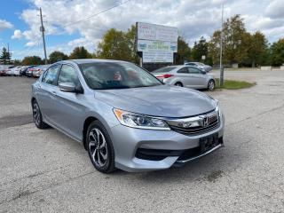 Used 2017 Honda Accord LX for sale in Komoka, ON