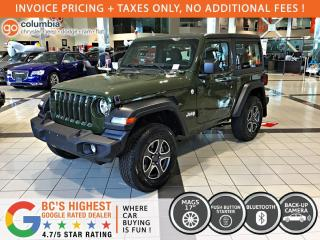 New 2021 Jeep Wrangler SPORT for sale in Richmond, BC