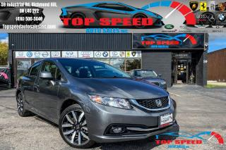 Used 2013 Honda Civic TOURING / NAVIGATION / SUNROOF / KEYLESS / LOADED for sale in Richmond Hill, ON
