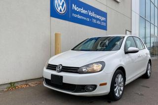 Used 2012 Volkswagen Golf 2.0L TDI COMFORTLINE AUTO - HEATED SEATS / SUNROOF for sale in Edmonton, AB