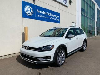 New 2019 Volkswagen Golf Alltrack EXECLINE for sale in Edmonton, AB