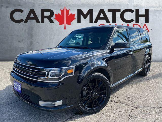 2016 Ford Flex LIMITED / AWD / LEATHER