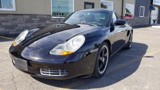 Used 2000 Porsche Boxster CONVERTIBLE WITH HARD TOP for sale in Tilbury, ON