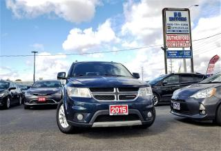 Used 2015 Dodge Journey No accidents |FWD |SXT | 7 Seater|R CAM| Certified for sale in Brampton, ON