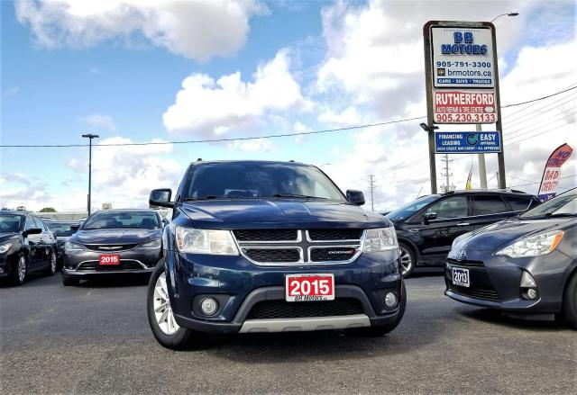 2015 Dodge Journey No accidents |FWD |SXT | 7 Seater| Alloys| R CAM