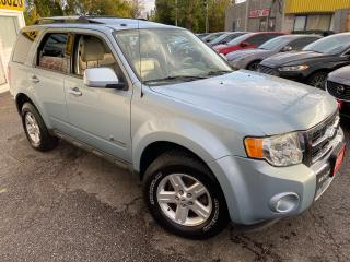 Used 2009 Ford Escape HYBRID/ 4WD/ LEATHER/ SUNROOF/ ALLOYS/ TINTED ++ for sale in Scarborough, ON